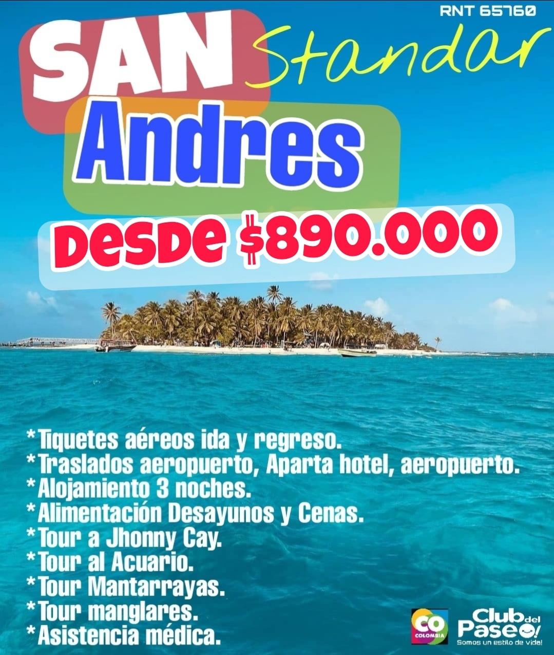 San Andrés standar