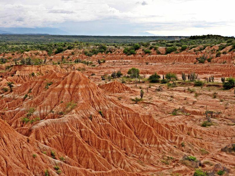 Desierto de arena roja
